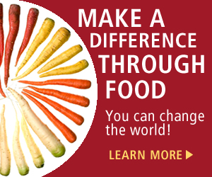 Change The World Through Food at the CIA - Ad