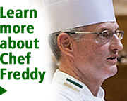 Learn more about Chef Freddy Brash