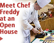 Meet Chef Freddy at an Open House