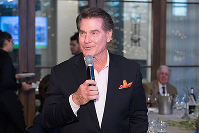 Ten-time Major League All-Star and 1974 National League MVP Steve Garvey was among the celebrities at the CIA's first Thomas Keller Golf Classic