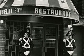 Giambelli 50th, Francesco Giambelli's New York City landmark restaurant.