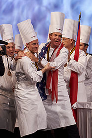 Grad Leads USA to 2nd Place at Bocuse D'or