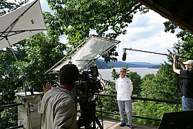 PBS Shooting Video on Location