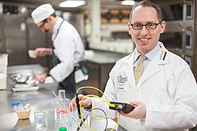 the CIA's Ted Russin is co-teaching the Harvard University massive open online course (MOOC) Science & Cooking: From Haute Cuisine to Soft Matter Science.