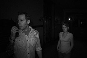 Investigators with The Atlantic Paranormal Society search for apparitions late at night at the CIA. Their findings will be featured on the September 2 episode of Ghost Hunters on Syfy.