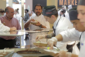 Celebrated Mexican chef Enrique Olvera '97.