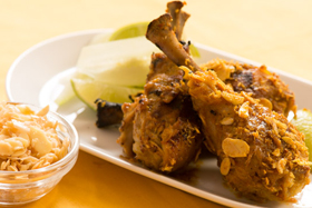 Malaysian Barbecued Almond Chicken-th