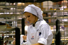 Maria Buko in action at the 2014 SkillsUSA competition in Kansas City, MO.