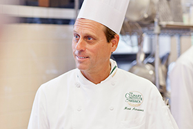 Chef Mark Ainsworth, a professor at The Culinary Institute of America in Hyde Park, NY, is author of The Young Chef: Recipes and Techniques for Kids Who Love to Cook