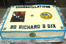 Cake made by CIA Veterans Admissions Counselor Eric E. Jenkins.
