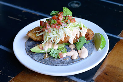 Christine Rivera, Chef de Cuisine at Galaxy Tacos in San Diego shows us their classic Baja Fish Tacos