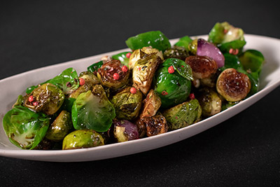 Back in the kitchens of The Culinary Institute of America, Chef Barbara Alexander shows us how to make Balsamic-Roasted Brussels Sprouts