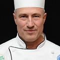 Bruce Davis, CIA Culinary Arts alumni, now Instructor, Production & Services Dept Chair at CAT-N