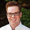 Evan Bollers , CIA Bachelor's in Culinary Science alumni, is R&D Chef at Custom Foods of America.