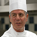 Anthony Bourdain, CIA culinary arts alumni, is chef-at-large at Les Halles, Host No Reservations.