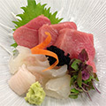 Sashimi prepared by CIA students in the Advanced Cooking: Japanese Cuisine course.