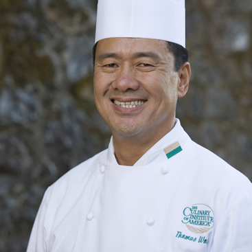 Thomas Wong, CIA Chef-Instructor—Culinary Arts