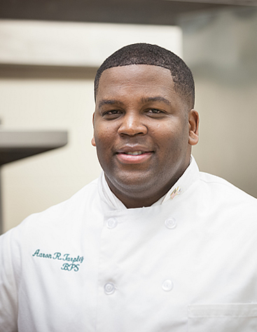 Aaron Tarpley, CIA NY Bachelor's Degree in Culinary Arts Management student and veteran.