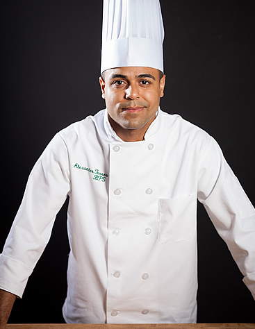Alexander Torres, culinary arts student at The Culinary Institute of America