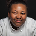 Glenecia Gowens, CIA Associate Degree in Culinary Arts student.