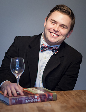 Kyle Wagner, Associate Degree in Culinary Arts student at The Culinary Institute of America.