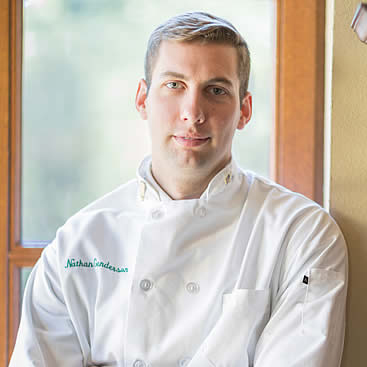 Nathan Gunderson, CIA Associate Degree in Culinary Arts student in New York and U.S. Army veteran