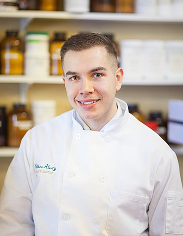 Walker Alvey, Culinary Science Bachelor's Degree student at The Culinary Institute of America in NY.