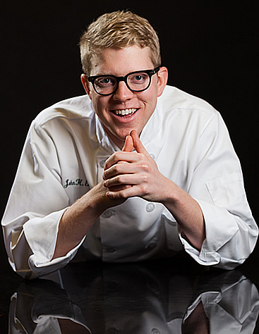 J. Hunter Evans, CIA advanced career experience (ACE) student, has the opportunity every three weeks to pick the brain of a new chef...to see how they operate, manage, their view of food, and how they resolve problems.
