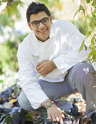 Jehan Luth, CIA culinary arts student, feels that the CIA has the best chef-instructors, best raw ingredients, best equipment, and certainly access to the best resources in the culinary field.