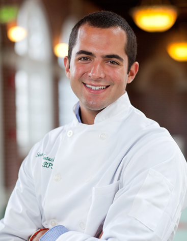 "Steven Sartuche, CIA culinary arts student, says, ""If you are serious about a culinary profession, this is simply the place to be. After graduation I would love to cook in New York City or Italy and immerse myself in the culture. Long term I would love to own a restaurant of my own and run a charitable organization."""