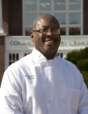 Eric Jenkins, CIA culinary arts alumni, is a U.S. Army veteran.