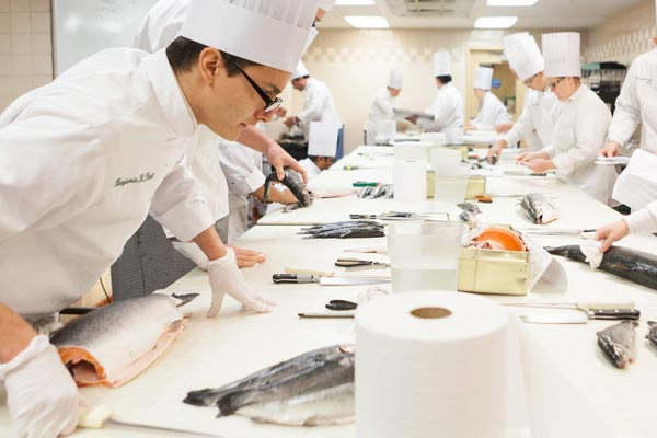 Culinary Arts - Seafood Identification and Fabrication course