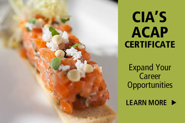 CIA Advanced Culinary Arts Certificate Program