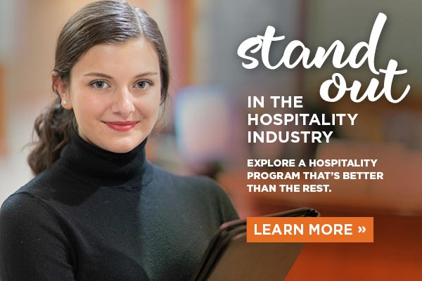 Learn more about CIA's amazing Hospitality Mgt Degree