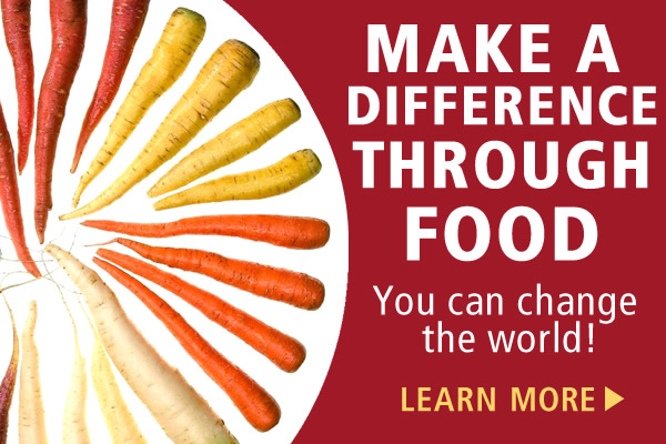 Change the World Through Food