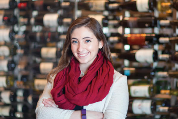 Get a Wine Grant at the CIA - image of wine student