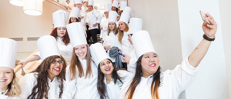 Get to know the CIA via social media. Learn about culinary school, food industry conferences, get recipes...explore the food world with the CIA!