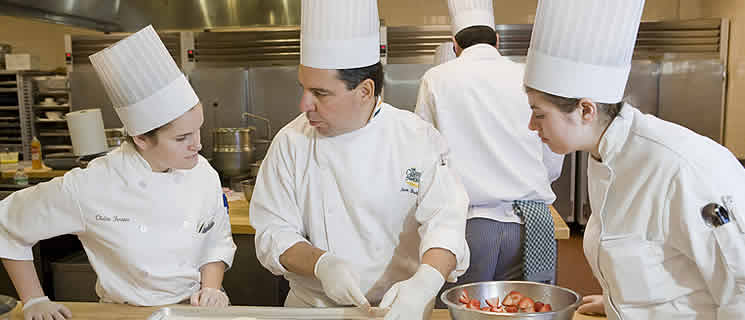 The best colleges have experienced, working instructors. Read CIA's list of about what faculty should look like at a culinary school.