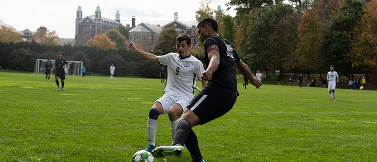 Read the schedule for CIA's college soccer team - the CIA Steels!