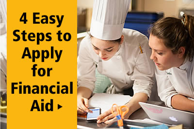 4 Easy Steps to Apply for Culinary College Financial Aid