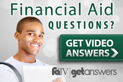 Watch Financial Aid TV to get video answers for the CIA - male student