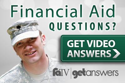 Veterans, watch Financial Aid TV to get video answers on CIA aid
