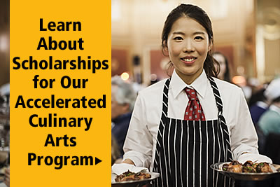 Learn about Scholarships for the CIA's advanced Culinary Arts certificate program