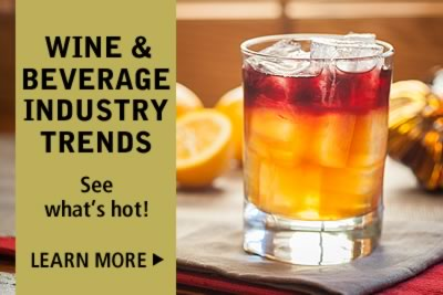 Learn about wine and beverage industry trends, get info from the CIA
