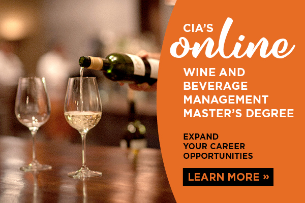 Learn about CIA's Wine Management Master's degree in Napa, CA