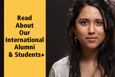 Read about CIA international alumni and students