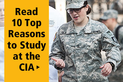 Read the top 10 reasons why to study at the CIA