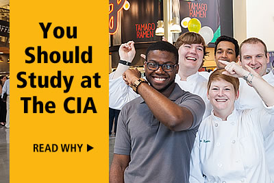 Learn why you should study at The Culinary Institute of America