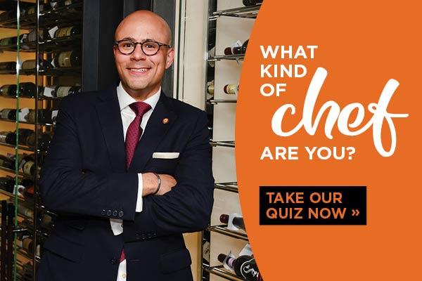 What kind of chef are you? Take our quiz now.