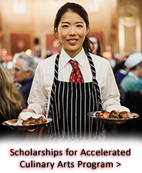 Scholarships for Accelerated Culinary Arts Program